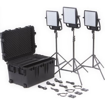 Picture of Litepanels Astra 6X  Traveler Trio V-Mount Kit