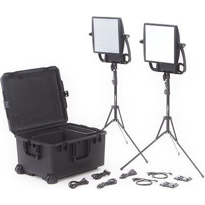 Picture of Litepanels Astra 6X + Astra Soft Traveler Duo V-Mount Kit