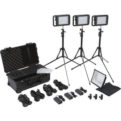 Picture of Litepanels Lykos BiColor Flight Kit