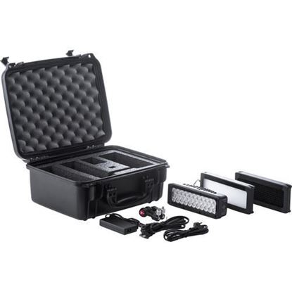Picture of Litepanels Brick Bi-Color 1pc Kit with Accessories