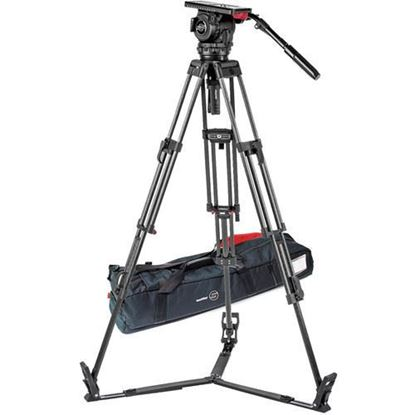 Picture of Sachtler Video 18 S2 Fluid Head & ENG 2 CF Tripod System with Ground Spreader