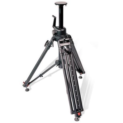 Picture of Sachtler OB-2000 Aluminum Tripod Legs (Flat Base and Mitchell) with Mid-Level Spreader