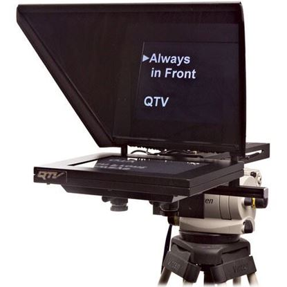 "Picture of Autocue Professional Series 12"" with Medium Wide Angle Hood and Gold Plate"
