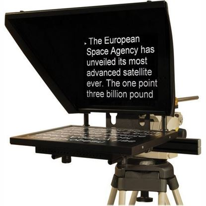"Picture of Autocue Professional Series 17"" with Medium Wide Angle Hood and Pro Plate"