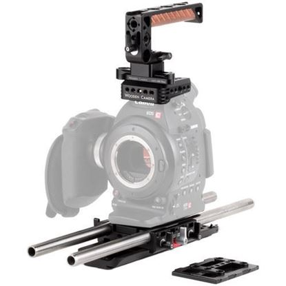 Picture of Wooden Camera - Canon C100, C100mkII Unified Accessory Kit (Advanced)