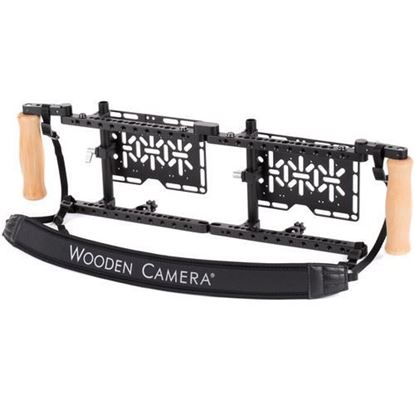 Picture of Wooden Camera - Dual Director's Monitor Cage v2
