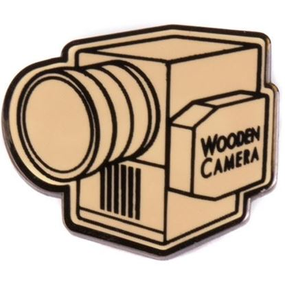 Picture of Wooden Camera - Wooden Camera Lapel Pin