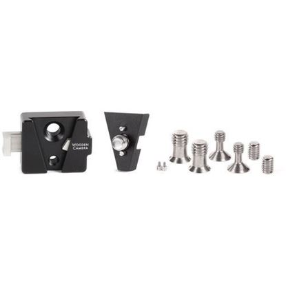 Picture of Wooden Camera - V-Lock Base Station and Wedge Kit (ARRI Accessory Mount 3/8-16)