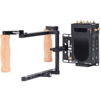 Picture of Wooden Camera - Director'S Monitor Cage V2 (Dual Teradek Wireless Receiver Kit)