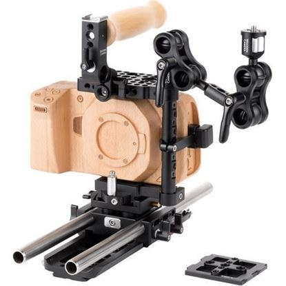 Picture of Wooden Camera - Blackmagic Pocket Cinema Camera 4K / 6K Unified Accessory Kit (Advanced)