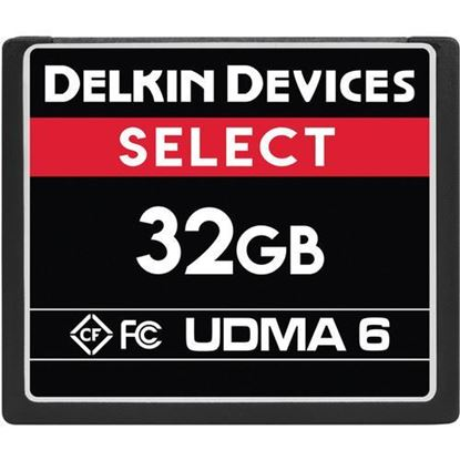 Picture of Delkin Devices 32GB Select UDMA 6 CompactFlash Memory Card