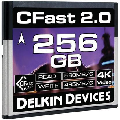 Picture of Delkin Devices 256GB Cinema CFast 2.0 Memory Card
