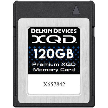 Picture of Delkin Devices 120GB Premium XQD Memory Card