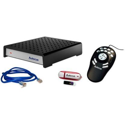 Picture of Autocue/QTV QMaster SDI and QBox V6 Package with USB Shuttle Pro Hand Control