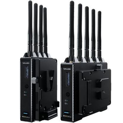 Picture of Teradek Bolt 4K 1500 12G-SDI/HDMI Wireless TX/RX Deluxe Kit (V-Mount)