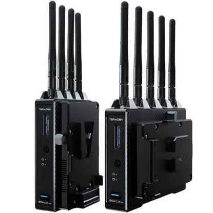 Picture of Teradek Bolt 4K 750 12G-SDI/HDMI Wireless TX/RX Deluxe Kit (V-Mount)