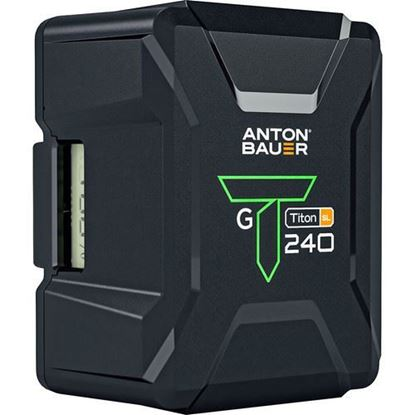 Picture of Anton Bauer Titon SL 240 238Wh 14.4V Battery (Gold Mount)