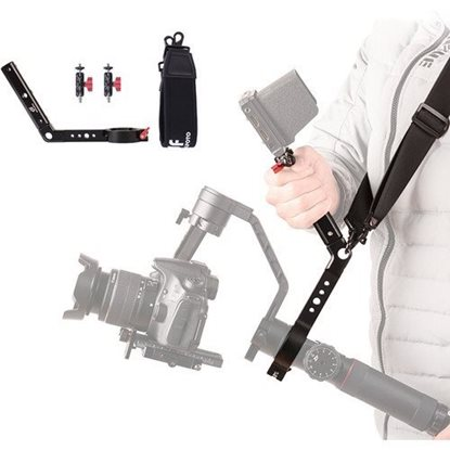 Picture of DigitalFoto Solution Limited Terminator Handle with Accessory Threads for Crane 2 Gimbal
